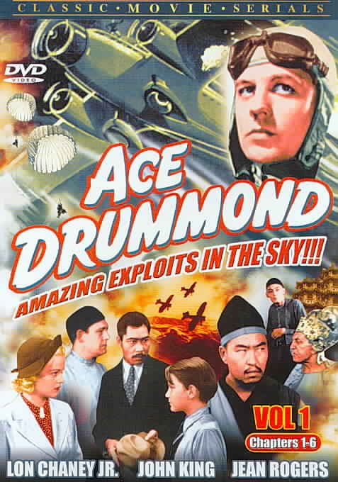 ACE DRUMMOND VOL 1 & 2 (COMPLETE SERI BY KING,JOHN (DVD)