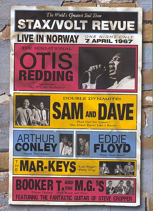 STAX/VOLT REWIEW:LIVE IN NORWAY 1967 (DVD)